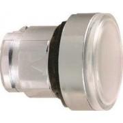 Cap buton ilum. încastrat alb - Butoane si lampi din metal Ø22 - Harmony xb4 - ZB4BH013 - Schneider Electric