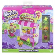 Shopkins Kinstructions Shopping Pack Fruit and Veg Stand Building Set