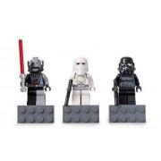 Lego Star Wars 2010 Magnets Set 4560062 Darth Vader Snowtrooper Shadow Trooper