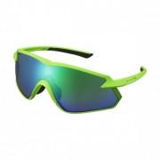 Shimano Cykelglasögon Shimano S-Phyre X grön polariserad neongrön