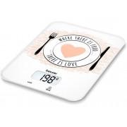 Beurer Báscula de cocina BEURER KS-19 Love (Capacidad: 5 Kg - Precisión: 1 g)