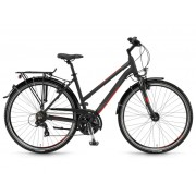 Winora Santiago women 28'' 21-Sp TX800 - 17/18 Winora black/grey/red matt - City Bikes 48