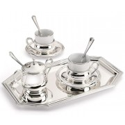 Chinelli Silver Coffee Made in Italy