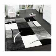 Zipcode Design Paityn Black/White/Grey Rug Zipcode Design Rug size: Rectangle 200 x 290cm - Size: Rectangle 200 x 290cm