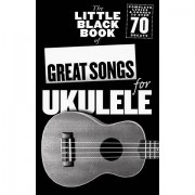 Music Sales The Little Black Book of Great Songs for Ukulele Songbook