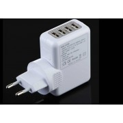20 Watt 220v to 5V Universal 4 Port USB Fast Charger for Smartphones and tablets
