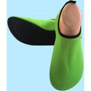 Sandalias De Malla Transpirable / Calzado Para El Ejercicio De Yoga O Natación De La Playa - Verde Size L