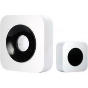 OPTEX 990227 Bezdrátový designový barevný zvonek bílá/černá s dlouhým dosahem