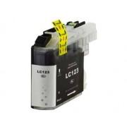 Printflow Compatível: Tinteiro Brother LC123 preto (LC121BK/LC123BK)
