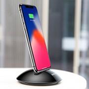 BASEUS asztali töltő iPhone X / iPhone 8 & 8 Plus / iPhone 7 & 7 Plus / iPhone 6 & 6s & 6 Plus & 6s Plus / iPad - FEKETE SZÍNŰ