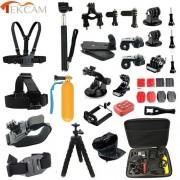 YOINS® Tekcam pour Gopro Accessoires réglés pour go pro hero 5 4 3 session gopro pour SJCAM SJ4000 M20 xiaomi yi 4K PLUS eken h9 Caméra Sony