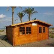 Cabaña de madera Zinnia 500x400 cm para Jardín