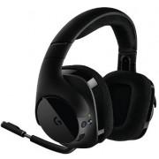 Casti Gaming Wireless Logitech G533 (Negru)