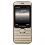 Мобилен телефон Prestigio Grace A1, 2.8 (240x320), Dual SIM, MT6261D, GSM 900/1800, 32MB DDR, 32MB Flash, 0.3MP камера, PFP1281DUOGOLD