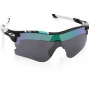 Oakley Round Sunglass(Violet, Green)