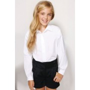 Next White Long Sleeve Formal Blouse Two Pack (3-16yrs) - White