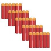 COSORO 30Pcs 9. 5Cm Eva Red Foam Darts Refill Bullet for Nerf N-Strike Elite Mega Series Blasters Kids Toy Gun
