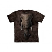 The Mountain Kids all-over print shirt olifant