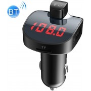 BBL08 Dual USB Opladen Smart Bluetooth Fm-zender Mp3-speler Car Kit, Ondersteuning Handsfree Call & Tf-kaart & U Disk