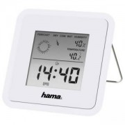 Цифров термометър/хигрометър HAMA TH-50 113988, Бял