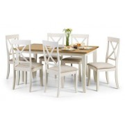 Davenport Rectangular Dining Table - Table + 6 Chairs