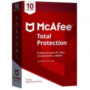 McAfee Total Protection 2018 10 Dispositivos