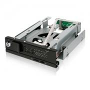 Rack intern Icy Dock TurboSwap MB171SP-B Tray-Less 3.5 SATA Hard Drive Mobile Rack