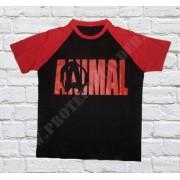 ANIMAL Red-Black T-Shirt Raglán