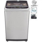 LG T8577TEELY 7.5 KG Top Load Fully Automatic Washing Machine - FREE SILVER/ BURGANDY