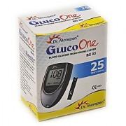 Dr Morepen BG-03 Blood Glucose Test Strips Pack of 25 (Only Strips No Glucometer)