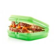 Zöld szendvicses Tupperware