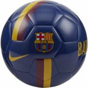Minge Fotbal Nike FC Barcelona Bleumarin/Galben Marime 5