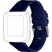 topp Accessoires Ersatz-/Wechselarmband »Silikon für Fitbit Versa«, Blau