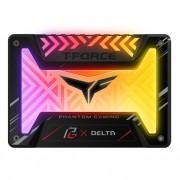 """SSD 2.5"""", 500GB, Team Group Delta Phantom Gaming RGB, SATA3, Black (T253PG500G3C313)"""