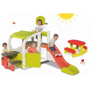 Smoby set centru de joacă Fun Center cu tobogan şi masă de picnic 310059-5