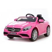 Mercedes S63 Pink 12V - Elbil till barn 326313