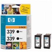 HP 339 + HP 339 Черни глави DeskJet 5740/6520/6540/6840 TWIN PACK ( C8767EE + C8767EE ) (C9504EE)