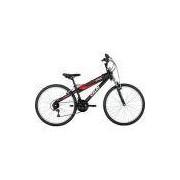 Bicicleta Caloi TRS Aro 26 21 Marchas MTB - Preto Fosco