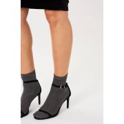 ''Gina Tricot'' ''Nora glitter socks'' Black 36/38