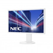 NEC monitor MultiSync LED E243WMi 23.8\ wide, IPS, Full HD, DVI, DP, fehér