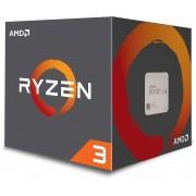 AMD Processeur AMD Ryzen 3 1200 avec Wraith Stealth Silver refroidisseur
