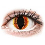 ColourVUE Crazy Lens Saurons Eye - dioptria nélkül (2 db lencse)