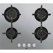 AEG HG654820UM Piano cottura a gas 60 cm 4 Fuochi VerticalFlame Estetica Inox