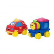 Bob The Train Fire Truck Toy Figure, 2 Figure Pack
