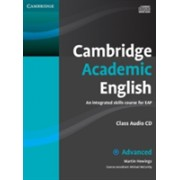 Cambridge Academic English C1 Advanced Class Audio CD - An Integrated Skills Course for EAP (Hewings Martin)(CD-Audio) (9780521165242)