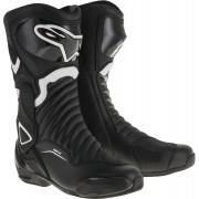 Alpinestars SMX-6 V2 Motorcycle Boots Black White 42