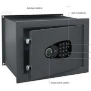 Serie Decora Wall Caja fuerte WE-6130