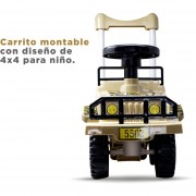 CARRITO MONTABLE TIPO 4X4 MY-5502K.