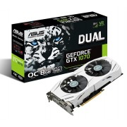 Asus NVIDIA GeForce GTX 1070 PCI Express 3.0 GDDR5 8GB 256-bit Graphics card