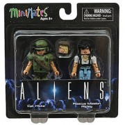 Aliens Minimates Cpl. Hicks & Rescue Mission Ripley Minifigure Set